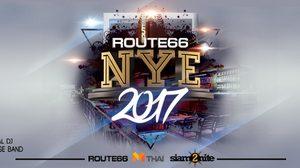 Route66 NYE 2017 ปาร์ตี้ส่งท้ายปีเก่า บนถนน RCA ที่สร้างสีสันมามากกว่า 10 ปี