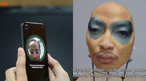 โดนหลอกอีกรอบ ระบบสแกนใบหน้า iPhone X สามารถใช้หน้ากากปลดล๊อค Face ID ได้!!