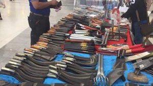 งงเลย!  ชาวต่างชาติโพสต์ถูกตรวจอาวุธที่ศูนย์ราชการ แต่ด้านในขายมีดเพียบ !!