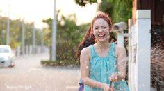 ไอเดียแต่งชุดไทยเล่นน้ำสงกรานต์ ของ เน็ตไอดอล พลอยชมพู
