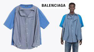 Balenciaga คอลเลคชั่นใหม่ เสื้อซ้อนเสื้อ มันคือแฟชั่น มันคือเรื่องจริง!!!!