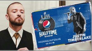 คอนเฟิร์ม! Justin Timberlake รีเทิร์น The Super Bowl halftime show!!
