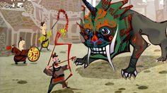 """ตำนานวันตรุษจีน """"ปีศาจเหนียน"""" ต้นกำเนิดการจุดประทัด"""