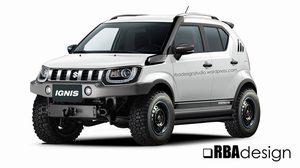 จะเป็นอย่างไรเมื่อ Suzuki Maruti Ignis รวมร่างกับ Suzuki Jimny
