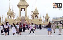 ประชาชนเข้าชมนิทรรศการพระเมรุมาศกว่า 1 ล้านคน