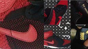 """Nike Air Jordan 1 Flyknit """"Banned"""" เวอร์ชั่นใหม่ ใช้วัสดุ Flyknit เพื่อความเบา"""