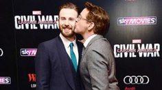 มือทาบอก!? สองนักแสดงนำจาก Captain America: Civil War โชว์รักนอกจอ
