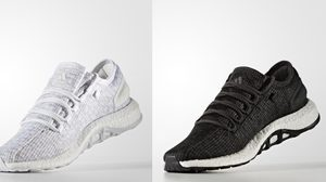 adidas PureBOOST 2สีพื้น ขาว, ดำ เปิดขายออนไลน์ ยังมีของห้ามพลาด