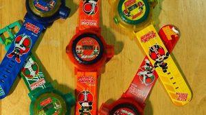 ใหม่! นาฬิกา มาสค์ไรเดอร์ โปรเจ็คเตอร์ ว็อทช์ จาก Big One INTERADE