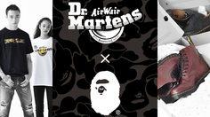 เปิดตัว Dr. Martens x BAPE คอลเลคชั่นสุดร้อนแรง เจอกันปลายเดือนนี้!!