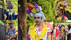 แฟชั่นโชว์สุดเจ๋ง! ผลงานออกแบบชุดและหมวก Mad Hat โรงเรียนสาธิต ม. ขอนแก่น