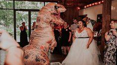 งานแต่ง ปี 2018 ต้องแบบนี้ บ่าวสาวจูงมือจัดงานวิวาห์ธีม Jurassic Park