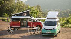 Nissan เผยภาพรถตู้ไฟฟ้า Nissan e-NV200 และ NV300 Camper Van เอาใจคนรักแคมป์ปิ้งวันหยุด