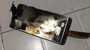เกิดเหตุ Huawei P10 Plus ระเบิดขณะกำลังชาร์จแบต!!