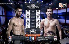 คู่ที่ 3 Superfight ฉมวกทอง ไฟต์เตอร์มวยไทย VS เซดริค โด