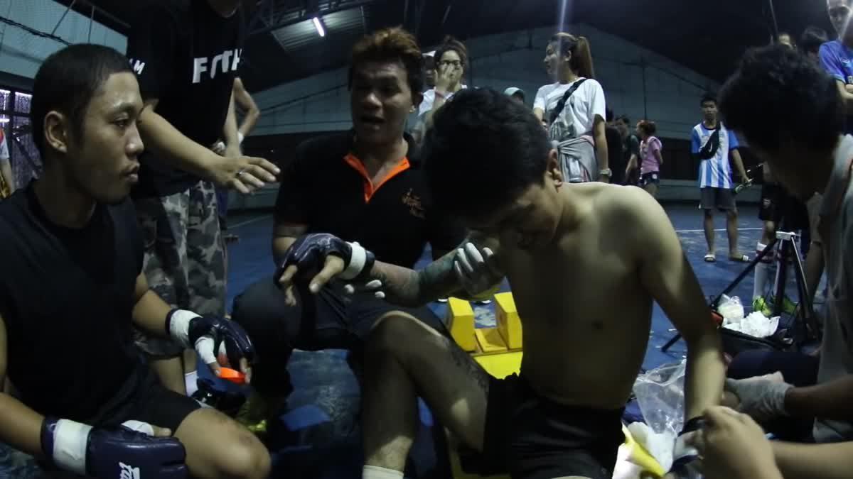 Fight Club Thailand ใต้ดิน เป็ก x บอล คู่ที่ 110