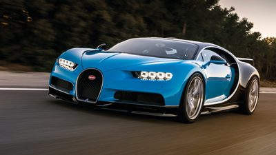 """Bugatti Chiron งานนี้สามคำนิยามว่า """"สวย แรง โหด"""""""