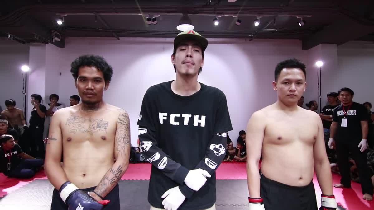 Fight Club Thailand ส่งท้ายปี เบ็ญ ซอมบี้บอย x ปุณณชัย คู่ที่ 184