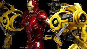 Iron Man 2 Suit Up Gantry มาพร้อมฉากสุดอลัง จาก Hot toys
