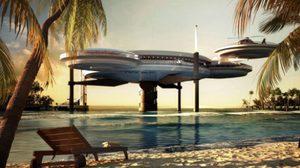 โรงแรมล้ำ ยานน้ำแห่งอนาคต ที่ดูไบ The Water Discus Underwater Hotel