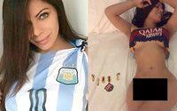 Miss BumBum แก้ผ้าโชว์ ลงโซเชียล หลัง Barcelona คว้าแชมป์ La Liga