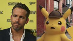 ไรอัน เรย์โนลด์ส พากย์เสียง ปิกาจู ในหนังไลฟ์แอคชั่น Detective Pikachu