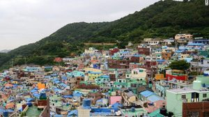 คัมชอน ซานโตรีนีเกาหลี อันซีนในเมืองปูซาน