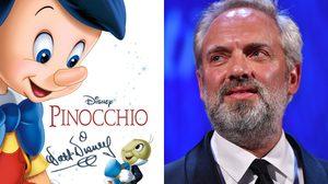 Pinocchio ฉบับคนแสดง ไม่ได้ แซม เมนเดส มาทำหน้าที่เป็นผู้กำกับแล้ว