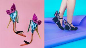 ปลุกจินตนาการให้โบยบิน คอลเลกชั่น รองเท้าผีเสื้อ จาก Sophia Webster