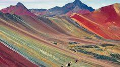 Ausangate ภูเขาสายรุ้ง ประเทศเปรู