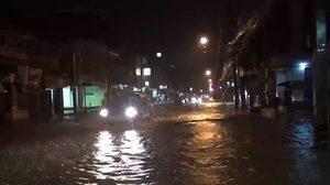 เข้าขั้นวิกฤต! หลังจากน้ำทะลักเข้าท่วมในเขตเทศบาลเมืองพัทลุง