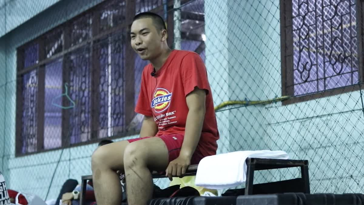 Fight Club Thailand ใต้ดิน พี x ตองแรงน้อย คู่ที่ 108