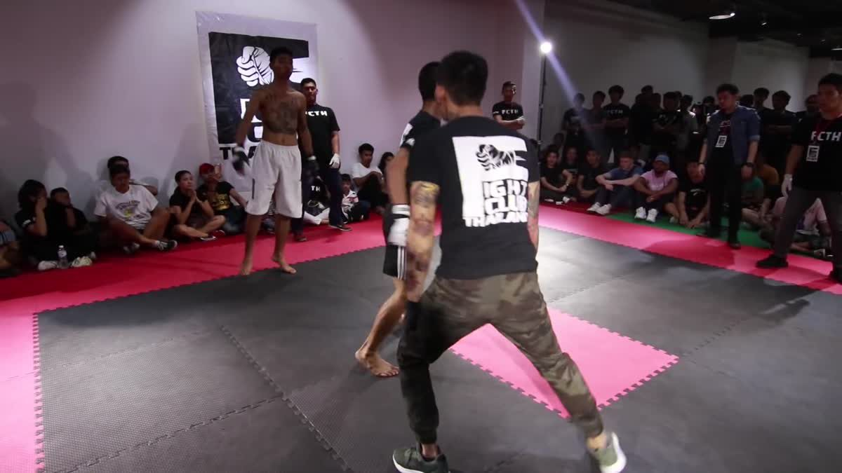 Fight Club Thailand 2017 ก้องต่อลาภ x อัด mdt คู่ที่ 206
