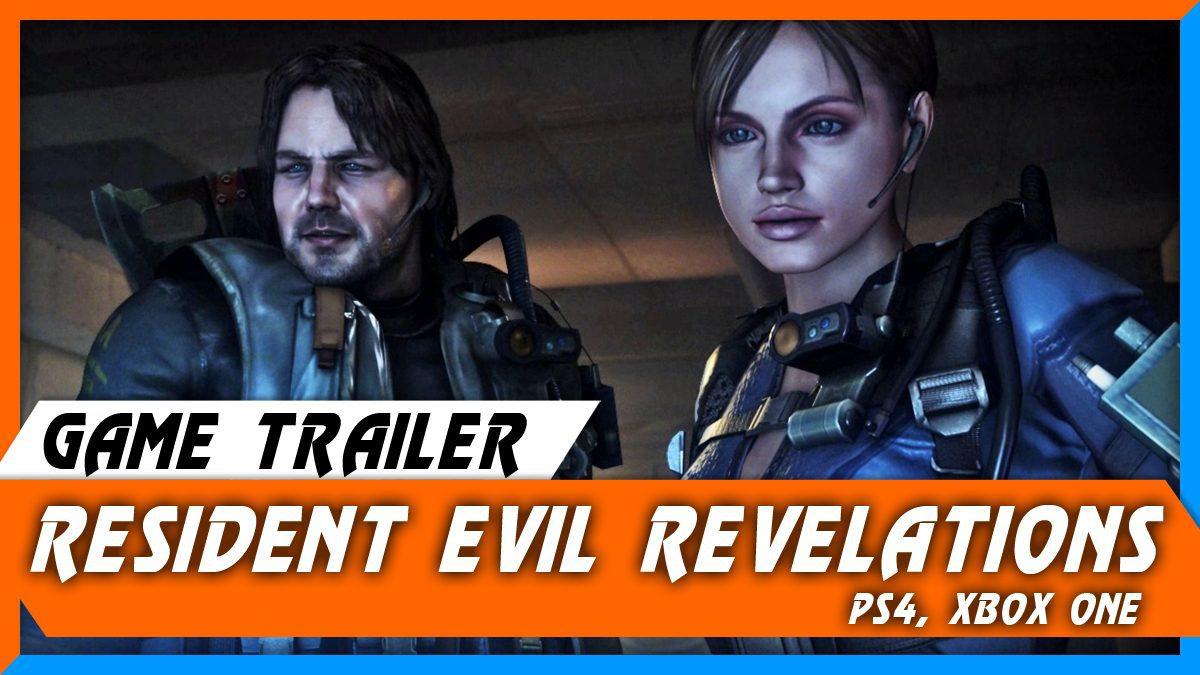Resident Evil Revelations PS4-Xbox One ver. [ตัวอย่างเกม]