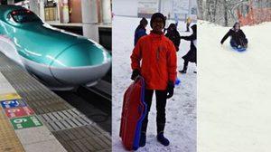 รีวิว : นั่งชินคันเซ็น เที่ยว Gala Yuzawa เล่นหิมะ, สกี แล้วกลับมาเดิน ชิบูย่า ใน 1 วัน
