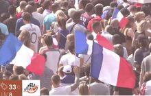 ฝรั่งเศสหอบแชมป์โลกกลับถึงบ้าน