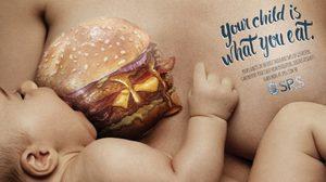 เตือนใจคุณแม่ 3 ภาพโฆษณา เห็นแล้วต้องฉุกคิด เพราะลูกเลือกกินไม่ได้