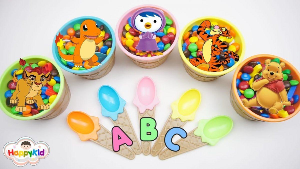 M&M ของเล่นเซอร์ไพรส์ | เรียนรู้ ABC | อ่าน A-Z | Learn Alphabet With M&M Surprise