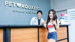 แอ้ม RUSH Sassy Club กับการฝึกงานผู้ช่วยสัตวแพทย์ครั้งแรก งานนี้จะไปรอดมั้ยน้า