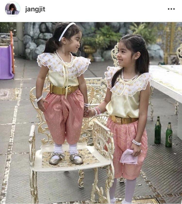 น้องแตงไทย-น้องแตงโม ลูกสาว แจ๊ส ชวนชื่น