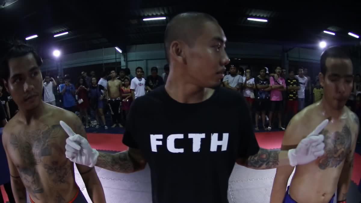 Fight Club Thailand ใต้ดิน ฉัตร x ปอนด์ ล็อคแปด คู่ที่ 104