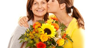 Mother-Receiving-Flowers