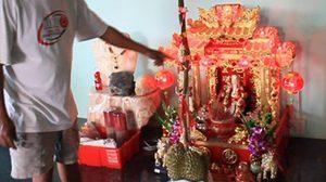 จันทบุรีพบทุเรียนแปลก ก้านยาวถึง 86 ซม.