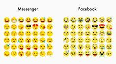 Facebook Messenger ยกเลิกใช้ชุดรูปแบบ emoji ของตัวเอง และกลับไปใช้ของ Facebook แทน