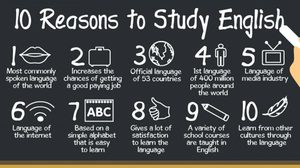 10 เหตุผลทำไมเราต้องเรียนภาษาอังกฤษ