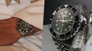 นาฬิกาข้อพระหัตถ์ในหลวงรัชกาลที่ 9  Seiko SKJ045P ราคาเพียงหลักพัน