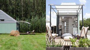 บ้านเดี่ยว น็อคดาวน์ หลังเล็ก ขนาด 17 ตร.ม. แต่ประโยชน์ใช้สอย Full Option