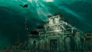 """""""City Lion"""" เมืองโบราณใต้น้ำ อายุนับพันปี!"""
