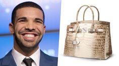 ประเสริฐแท้ Drake เจ้าพ่อฮิปฮอปเก็บสะสมกระเป๋า Hermès Birkins ไว้ให้เมียในอนาคต