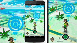 Ganjaman GO เกมล้อเลียน Pokemon Go สำหรับคนรักกัญชา